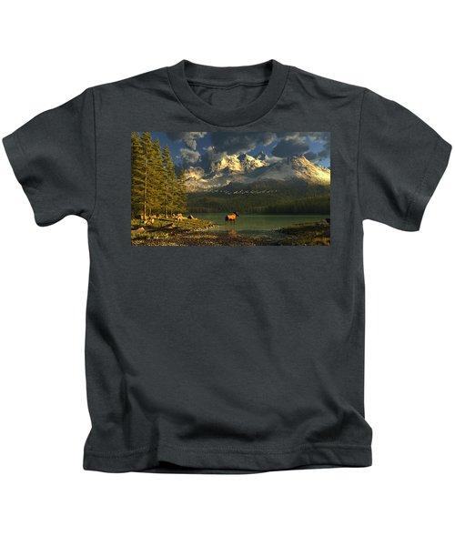 A Small Planet Kids T-Shirt