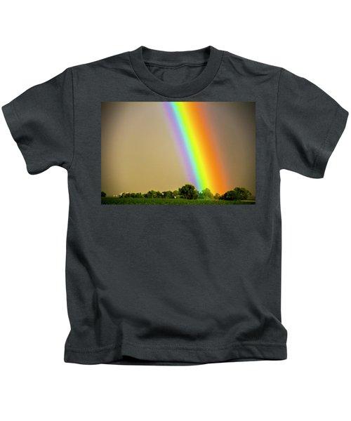 A Spectrum Of Nebraska 002 Kids T-Shirt