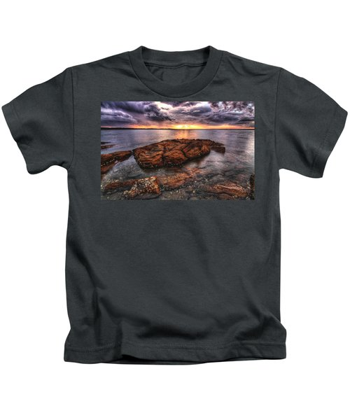 A Storm Is Brewing Kids T-Shirt