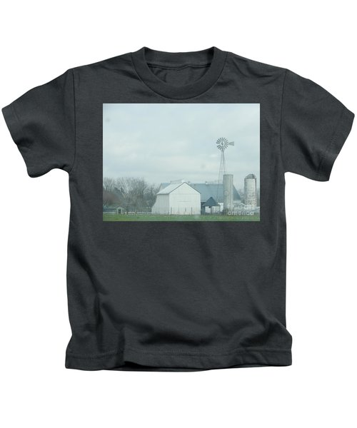 A Storm Moves In Kids T-Shirt