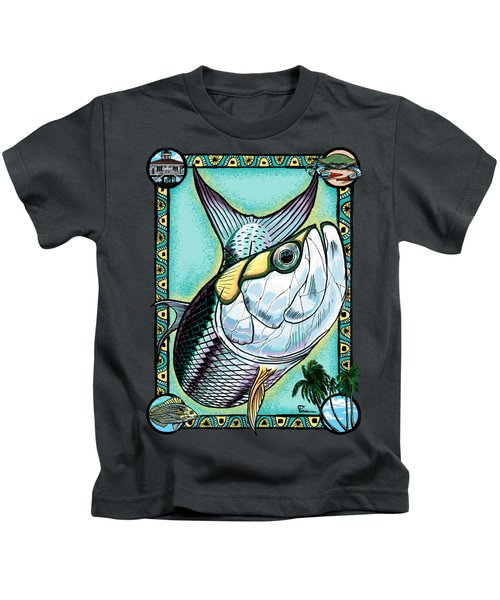A Tarpons Life Kids T-Shirt