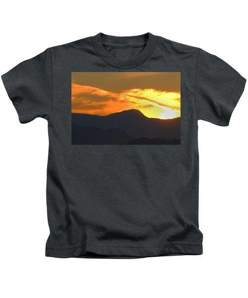 A Vancouver Sunset Kids T-Shirt
