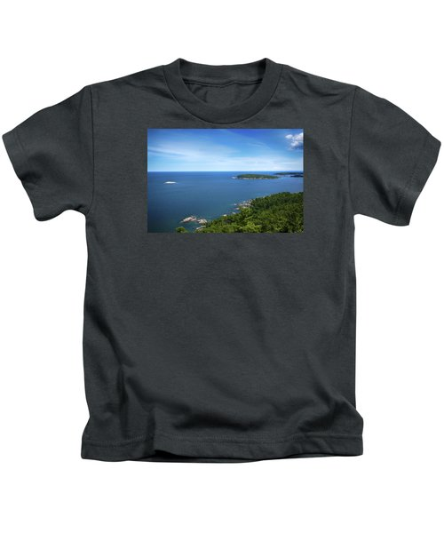 A View From Sugarloaf Mountain Kids T-Shirt