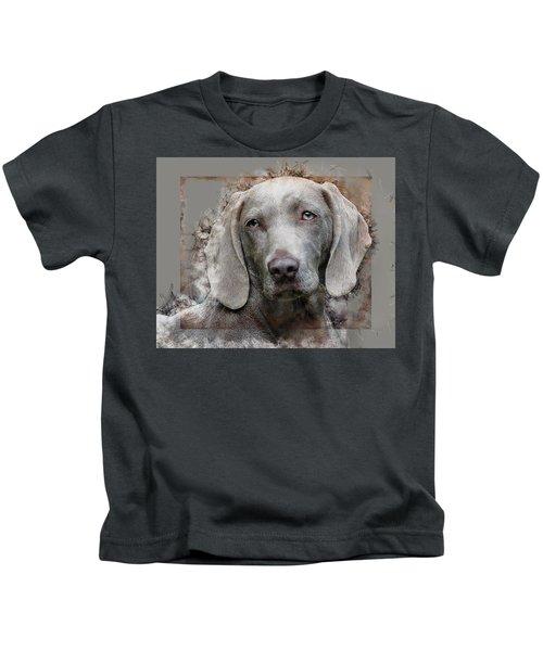 A Weimaraner Kids T-Shirt