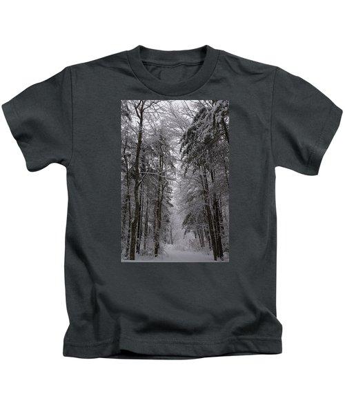 A Winters Path Kids T-Shirt
