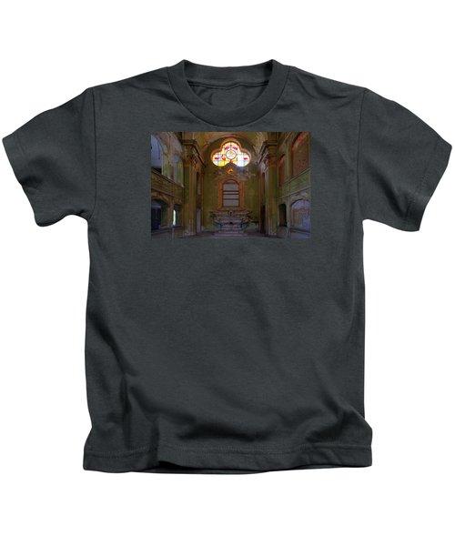 Abandoned Chapel Of An Important Liguria Family I - Cappella Abbandonata Di Famiglia Ligure 1 Kids T-Shirt