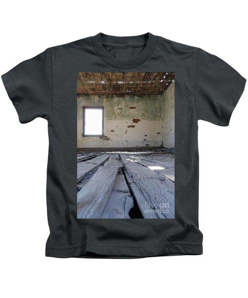 Abandoned School House Kids T-Shirt