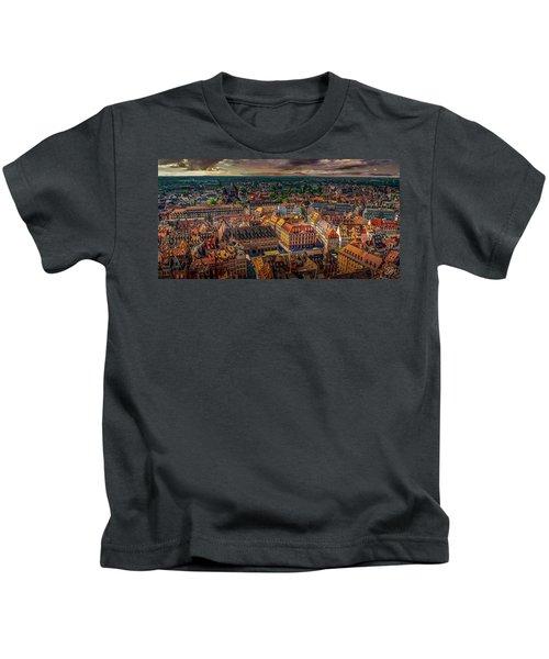 Above Strasbourg Kids T-Shirt