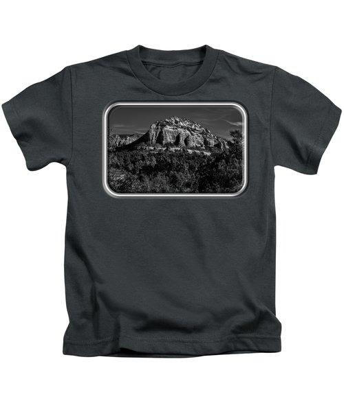Above The Vortex Bw Kids T-Shirt