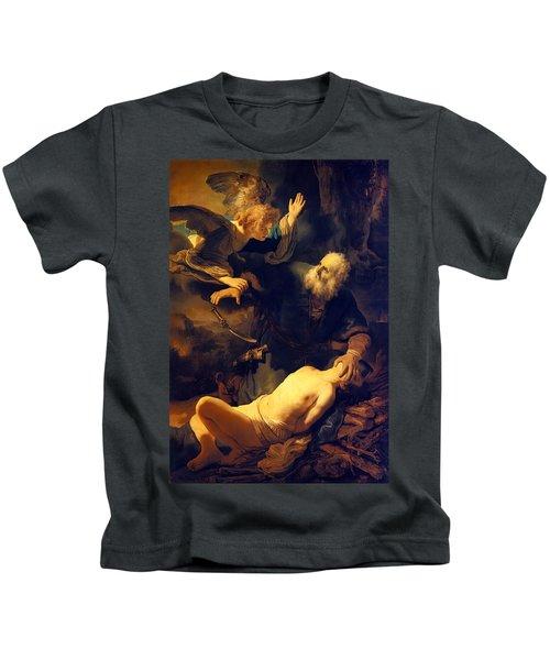 Abraham And Isaac Kids T-Shirt