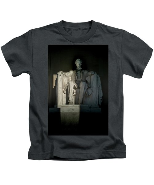 Abraham Lincoln And The Current State Of Affairs Kids T-Shirt
