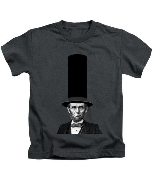 Abraham Lincoln Presidential Fashion Statement Kids T-Shirt by Garaga Designs