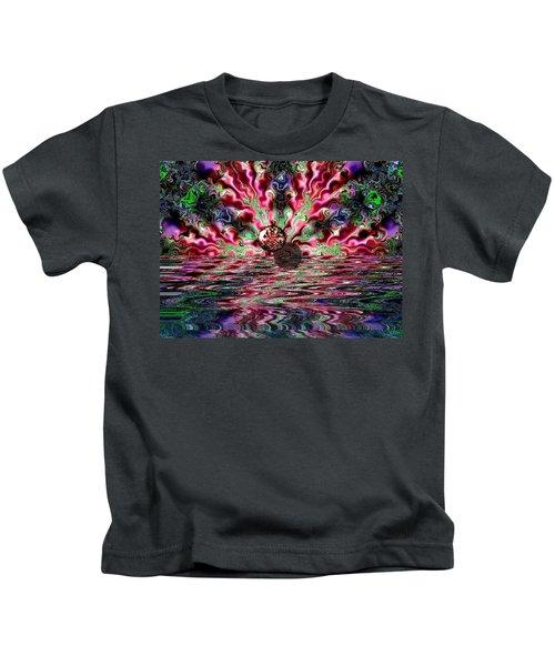 Abstract 93016.1 Kids T-Shirt