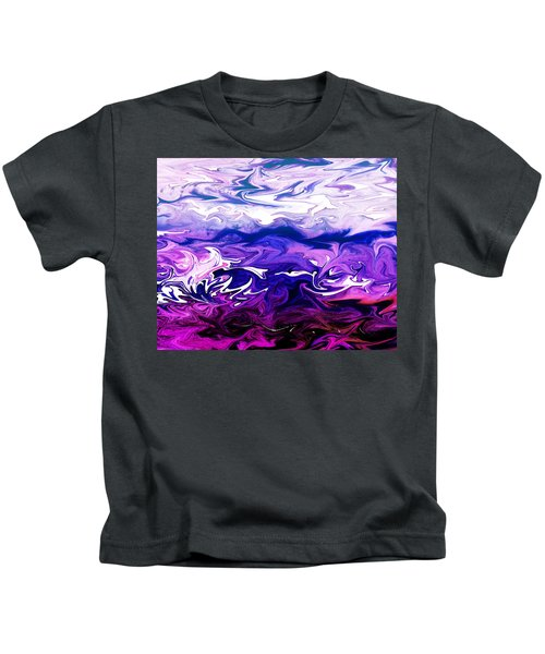Abstract Ocean Fantasy One Kids T-Shirt