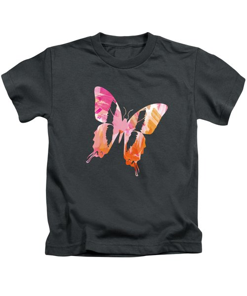 Abstract Paint Pattern Kids T-Shirt