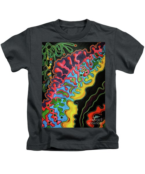 Abstract Thought Kids T-Shirt