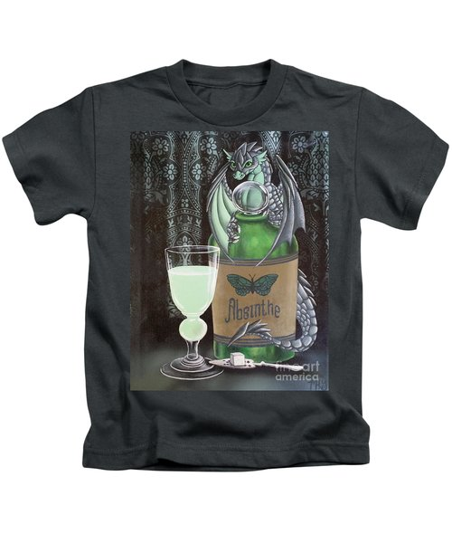 Absinthe Dragon Kids T-Shirt
