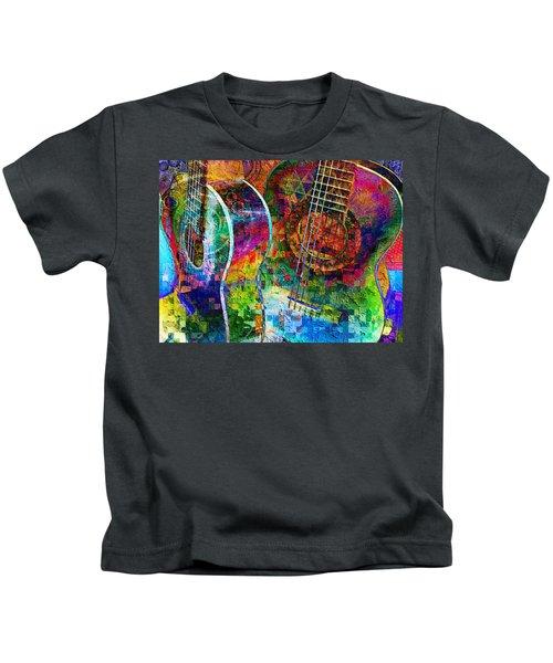 Acoustic Cubed Kids T-Shirt