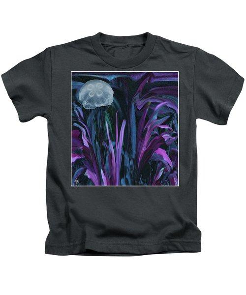 Adrift In The Mermaid Cafe Kids T-Shirt