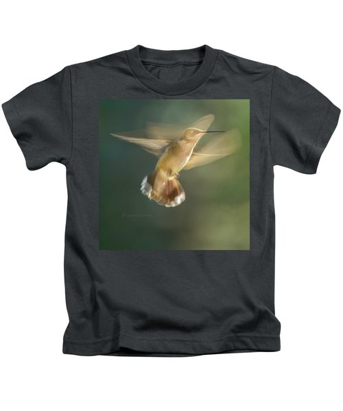Aerial Dancing.... Kids T-Shirt