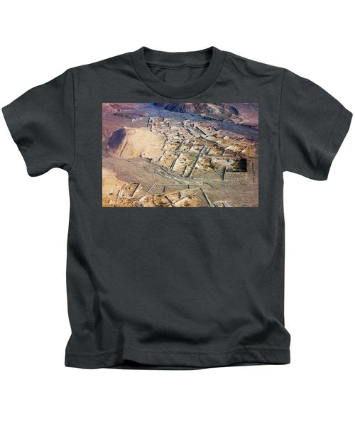 Afghan River Village Kids T-Shirt