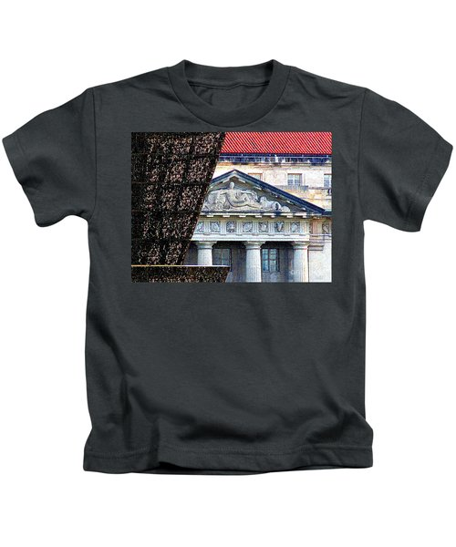 African American History And Culture 5 Kids T-Shirt by Randall Weidner