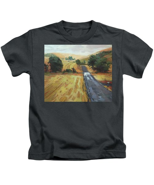 After The Harvest Rain Kids T-Shirt