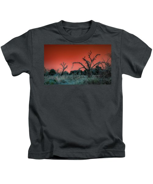 After The Hurricane Wars Kids T-Shirt