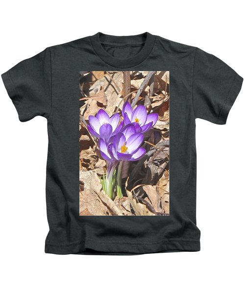 After The Snow Has Gone Kids T-Shirt