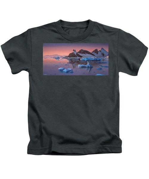 Afterglow Lemarie Channel Antarctica Kids T-Shirt
