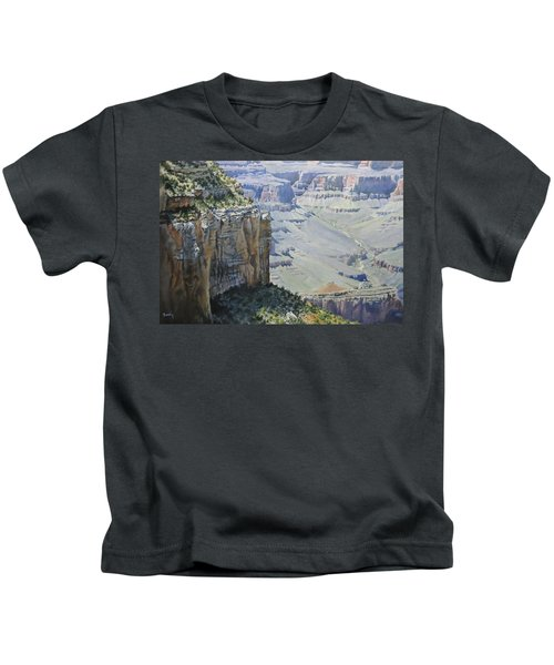 Afternoon At The Canyon Kids T-Shirt
