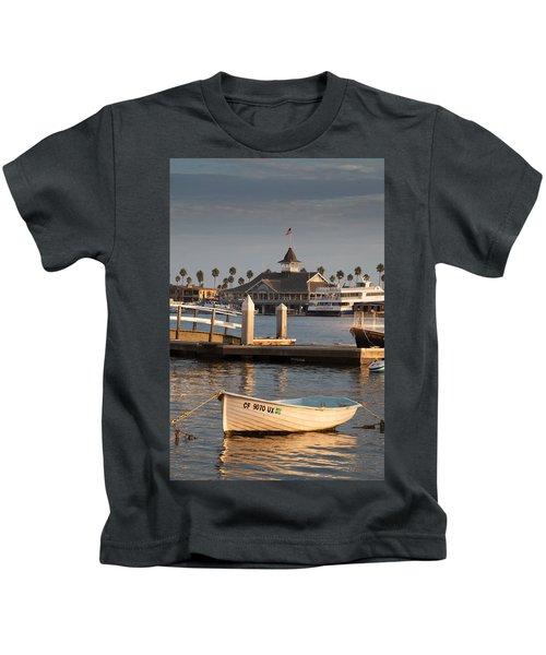Afternoon Light Balboa Island Kids T-Shirt