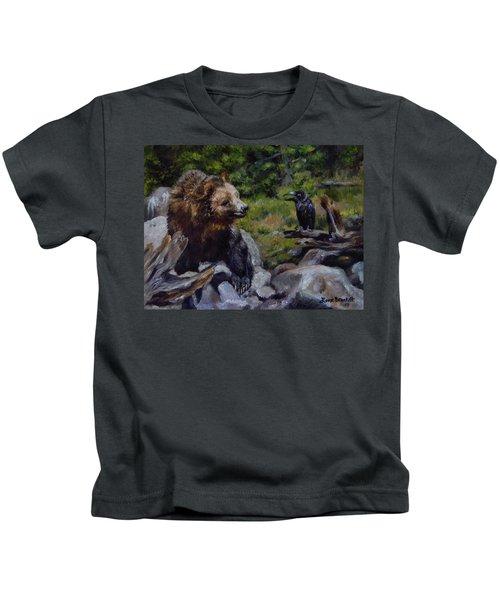 Afternoon Neigh-bear Kids T-Shirt