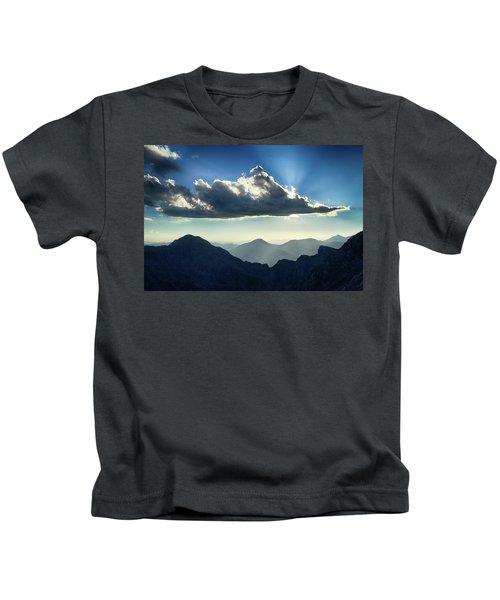 Afternoon Sunburst Kids T-Shirt