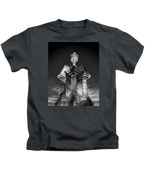 Aged Stone And Sky Kids T-Shirt