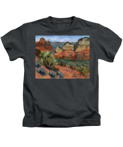 Airport Mesa Sedona  Kids T-Shirt