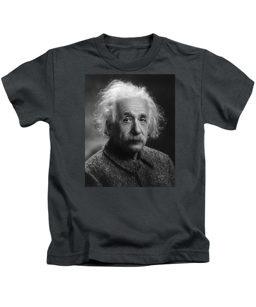 Albert Einstein, 1947. Age 68. Kids T-Shirt