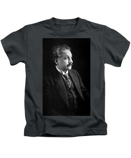 Albert Einstein Photo 1921 Kids T-Shirt