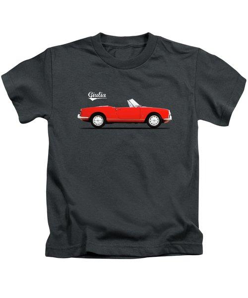 Alfa Giulia Spider 1964 Kids T-Shirt