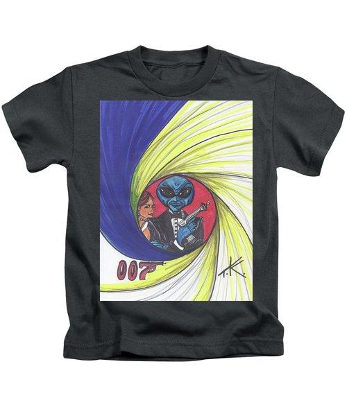 alien Bond Kids T-Shirt