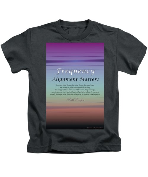 Alignment Matters Kids T-Shirt