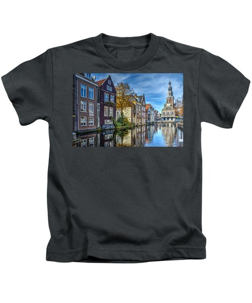 Alkmaar From The Bridge Kids T-Shirt