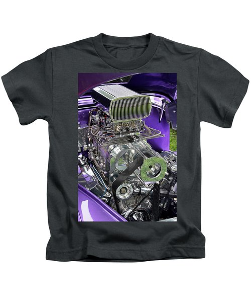 All Chromed Engine With Blower Kids T-Shirt