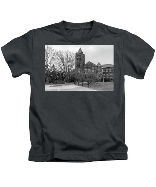 Alma Mater And Law Library University Of Illinois  Kids T-Shirt