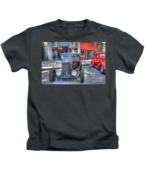 Aloha Cars And Pinups Kids T-Shirt