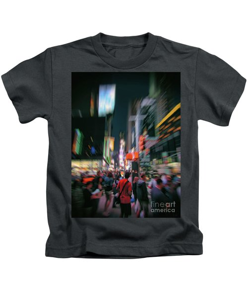 Alone In New York City 1 Kids T-Shirt