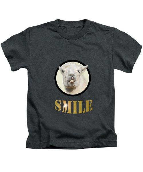 Alpaca Smile  Kids T-Shirt