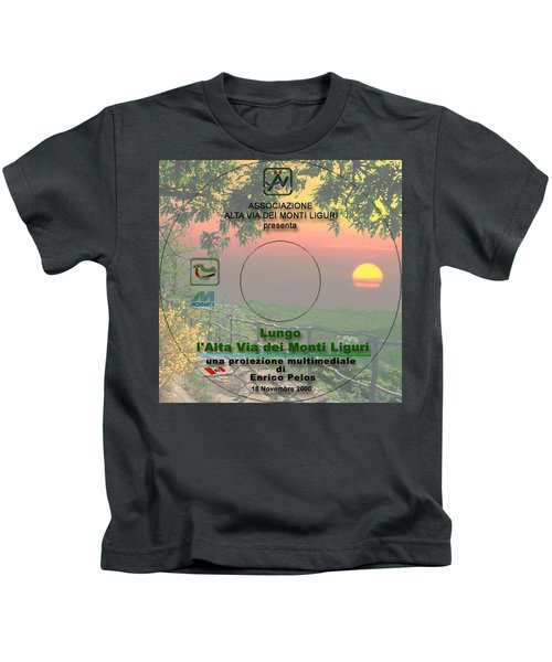 Alta Via Dei Monti Liguri Cd Cover Kids T-Shirt
