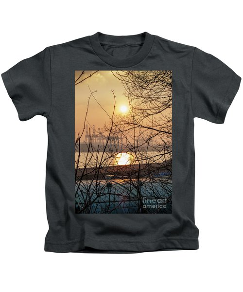 Altonaer Balkon Sunset Kids T-Shirt
