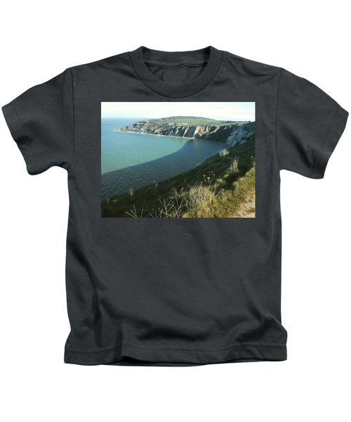Alum Bay, Isle Of Wight Kids T-Shirt